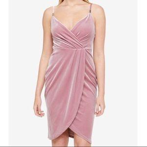Guess pink velvet dress 6